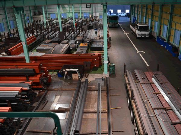 姫路市の鋼材屋さん